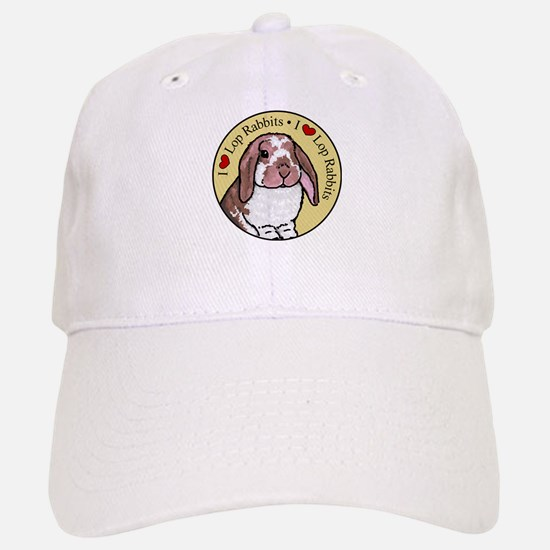 I Love Lops Circle Baseball Baseball Cap