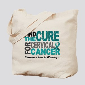 Find The Cure 1 Cervical Cancer Tote Bag