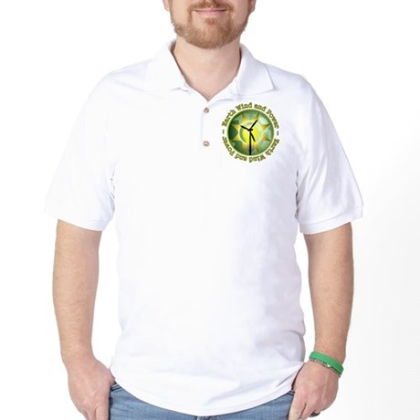 Earth wind and power Golf Shirt