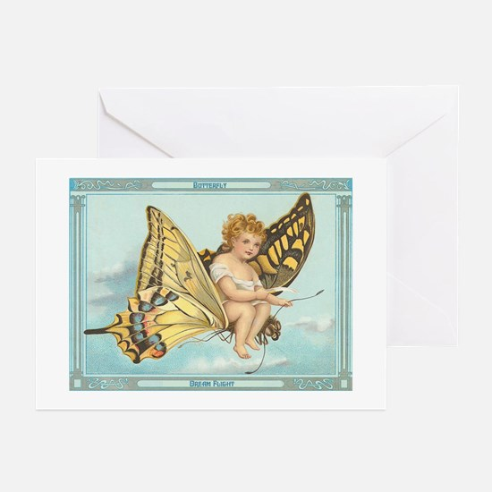 Butterfly Dream Flight Greeting Cards (Package of
