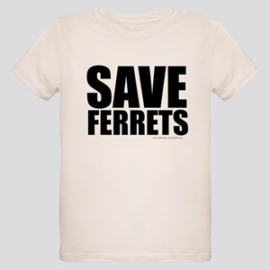 Save Ferrets Organic Kids T-Shirt