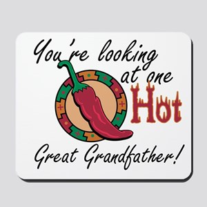One Hot Great Grandfather Mousepad