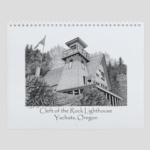 Cleft of the Rock Lighthouse Wall Calendar