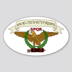 Eagle Standard Oval Sticker