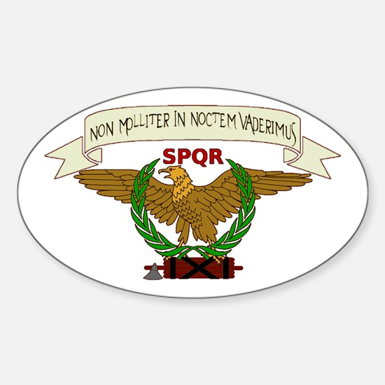 Eagle Standard Oval Decal