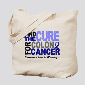 Find The Cure Colon Cancer Tote Bag