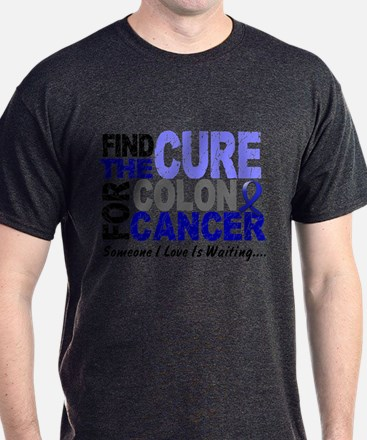 Find The Cure Colon Cancer T-Shirt