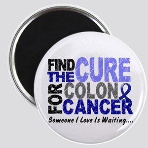 Find The Cure Colon Cancer Magnet