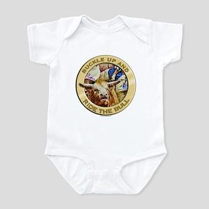 Bull Buckle Infant Bodysuit