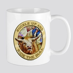 Bull Buckle Mug