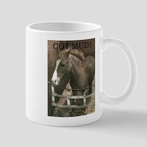 Got Mud? Muddy pony Mug for pony lovers