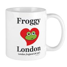 Froggy Loves London Mug