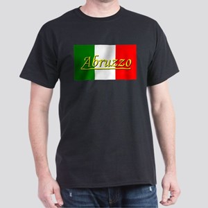 Abruzzo Black T-Shirt