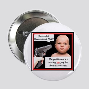 """Generational Theft"" 2.25"" Button"