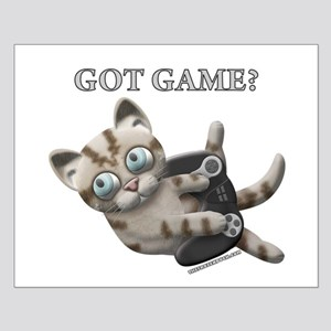 Got Game Kitten Small Poster