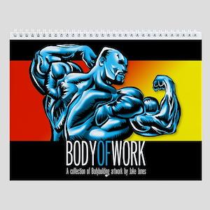 New! Body Of Work Wall Calendar