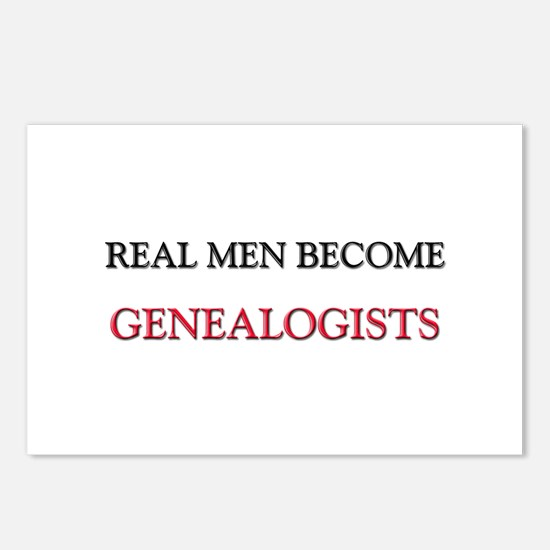 Real Men Become Genealogists Postcards (Package of