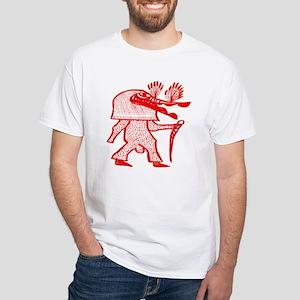 Sunufu White T-Shirt
