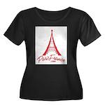 Paris France Original Merchan Women's Plus Size Sc