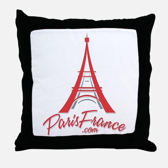 Paris France Original Merchan Throw Pillow