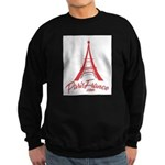 Paris France Original Merchan Sweatshirt (dark)