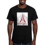Paris France Original Merchan Men's Fitted T-Shirt