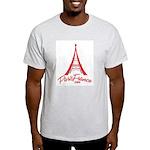 Paris France Original Merchan Light T-Shirt