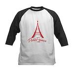 Paris France Original Merchan Kids Baseball Jersey