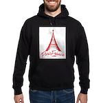 Paris France Original Merchan Hoodie (dark)