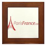 Paris France Original Merchan Framed Tile