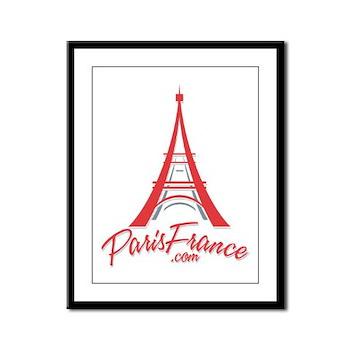 Paris France Original Merchan Framed Panel Print