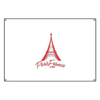 Paris France Original Merchan Banner