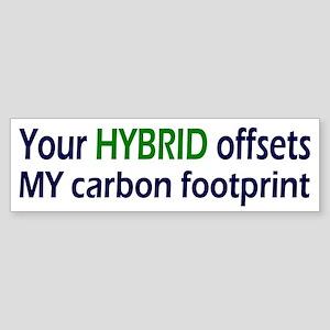 Your Hybrid Bumper Sticker