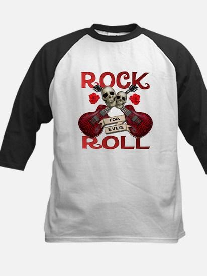 Real Rock N Roll 4 Ever Kids Baseball Jersey