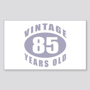 85th Birthday Gifts For Him Rectangle Sticker