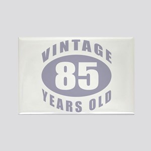 85th Birthday Gifts For Him Rectangle Magnet