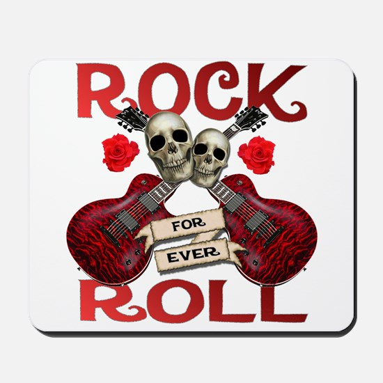 Real Rock N Roll 4 Ever Mousepad