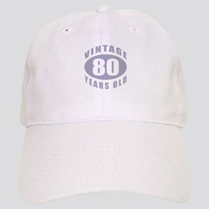 80th Birthday Gifts For Him Cap