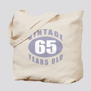 65th Birthday Gifts For Him Tote Bag