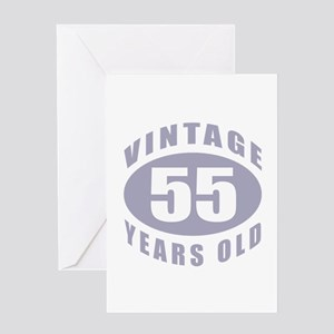 55th Birthday Gifts For Him Greeting Card