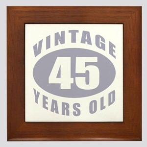 45th Birthday Men Wall Art