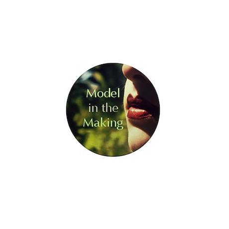 Aspiring Model Mini Button