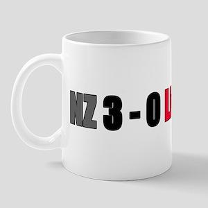NZ 3-0 Lions Rugby Tour New Zealand Mug