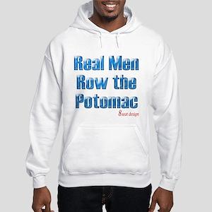 Real Men Row The Potomac Hooded Sweatshirt
