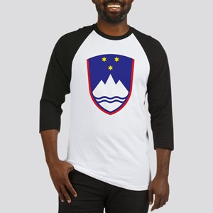 Slovenia Coat Of Arms Baseball Jersey
