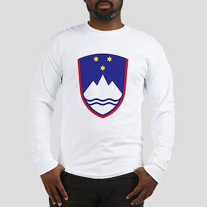 Slovenia Coat Of Arms Long Sleeve T-Shirt