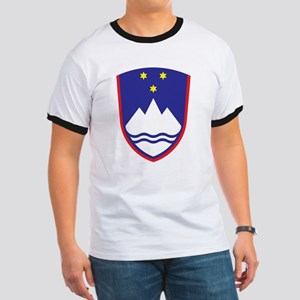 Slovenia Coat Of Arms Ringer T