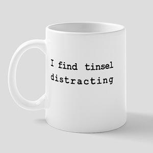 tinsel distracting Mug