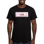 MWAH! Men's Fitted T-Shirt (dark)