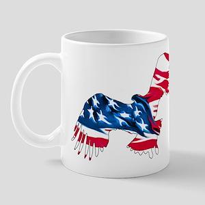 Red White Blue Eagle Mug